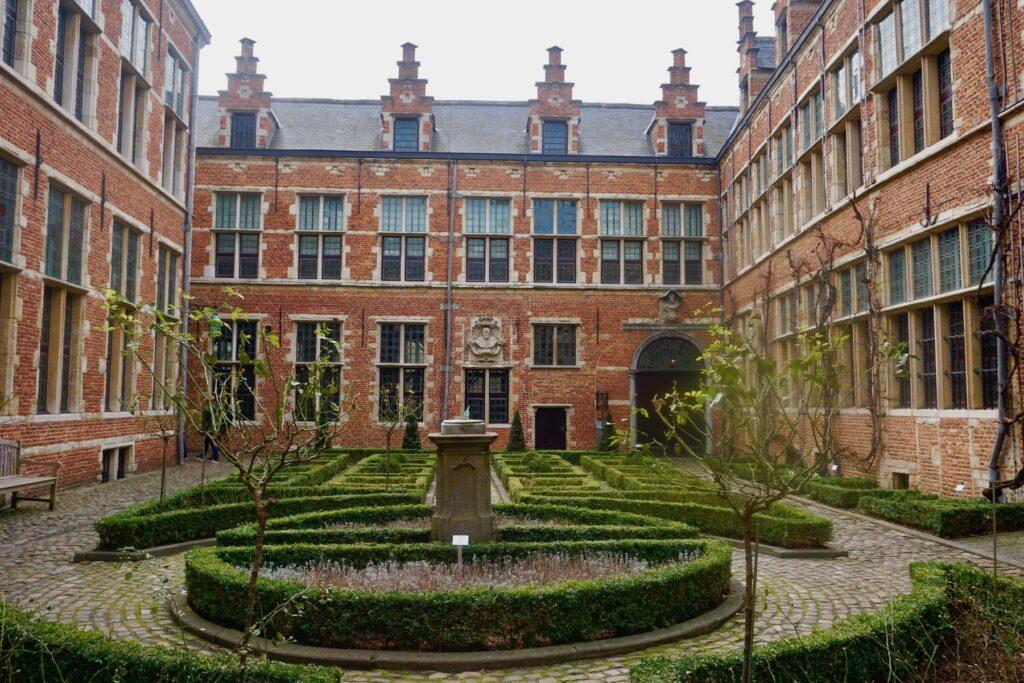 The Plantin-Moretus Museum in Antwerp, Belgium.