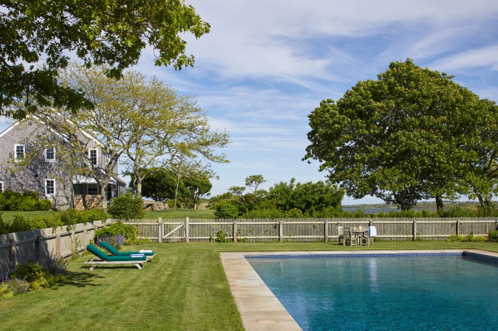 The pool at Red Gate Farm.
