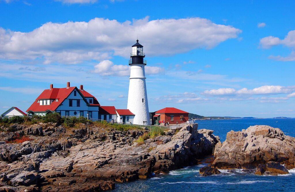 The Portland Head Light in Maine.