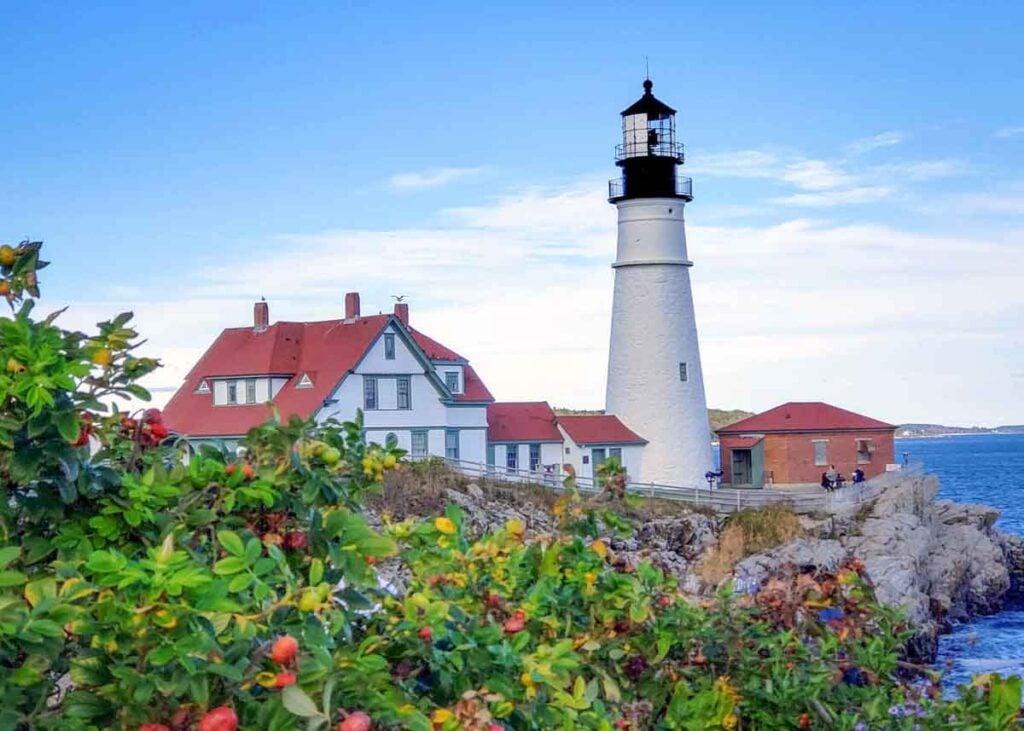 The Portland Head Lighthouse in Maine.