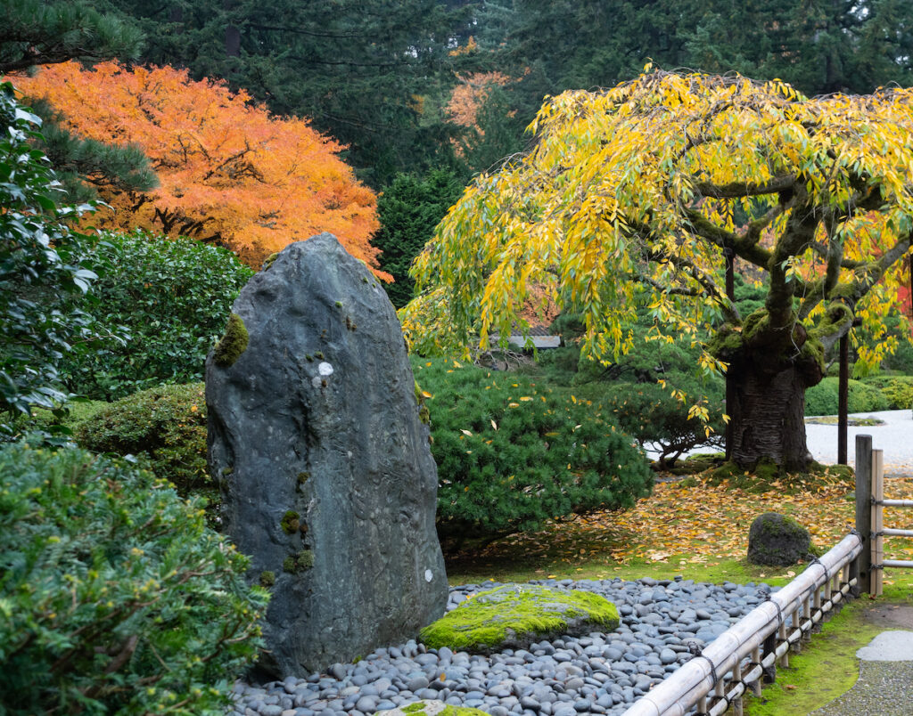The Portland Japanese Garden in Oregon.