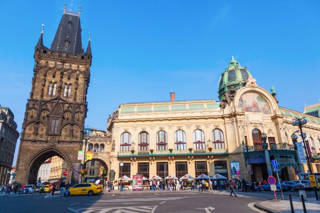 The Powder Tower in Prague.