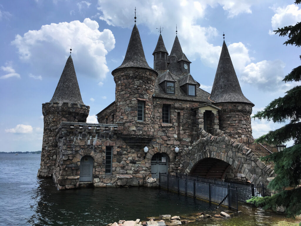 The powerhouse at Boldt Castle.