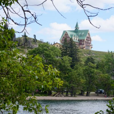 The Prince of Wales Hotel in Waterton, Alberta.