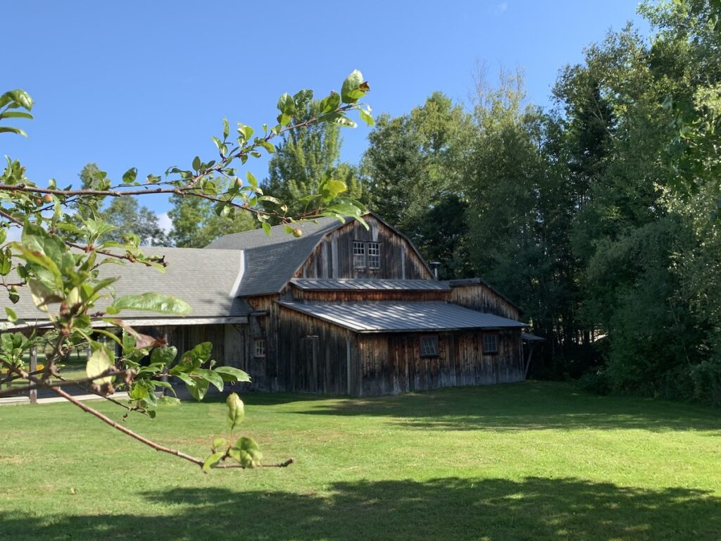 The Priory barn in Vermont.