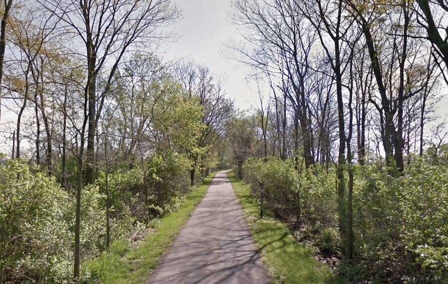 The Pumpkinvine Nature Trail in Goshen, Indiana.