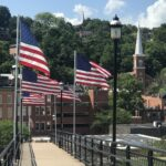 The quaint town of Galena along the Great River Road.