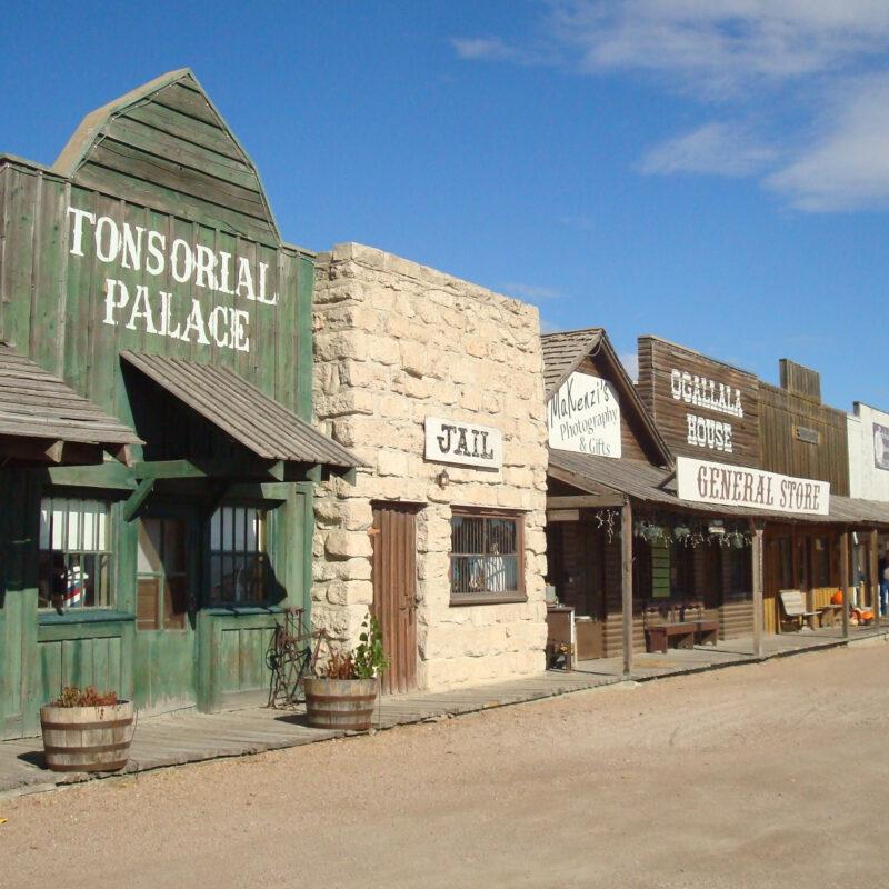 The quaint town of Ogallala, Nebraska.