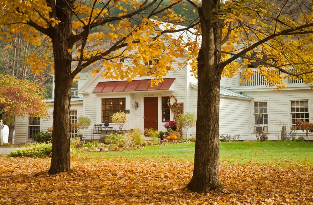 The Quechee Inn in Vermont.