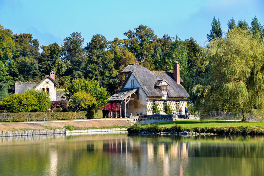 The Queen's Hamlet at the Palace of Versailles.