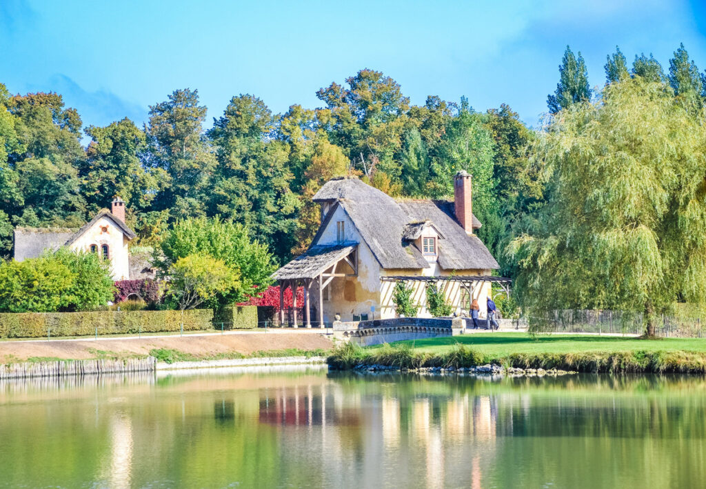 The Queen's Hamlet in Versailles.