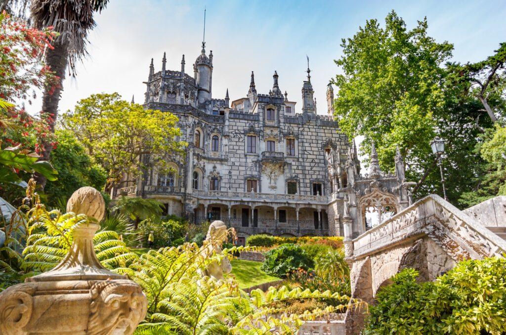 The Quinta da Regaleira in Portugal.