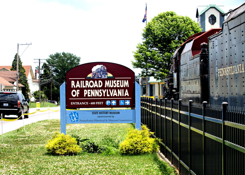 The Railroad Museum of Pennsylvania in Strasburg.