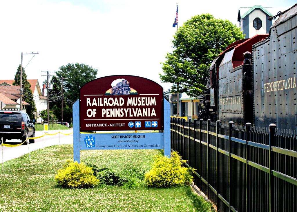 The Railroad Museum of Pennsylvania in Strasburg.