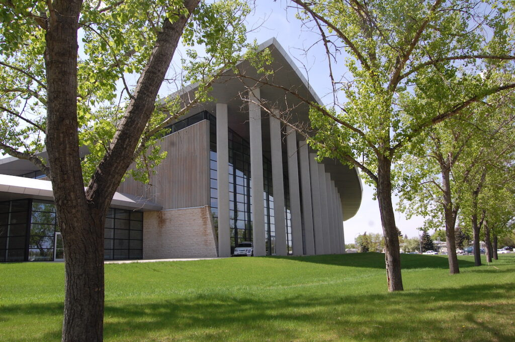 The RCMP Heritage Centre in Regina, Saskatchewan.