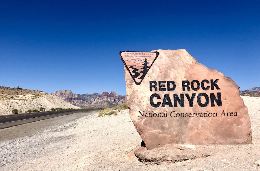 The Red Rock Canyon Scenic Drive.
