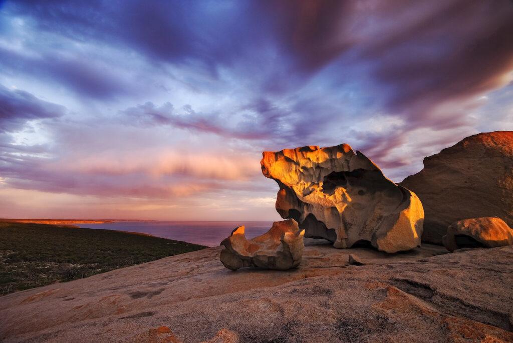 The Remarkables on Kangaroo Island.