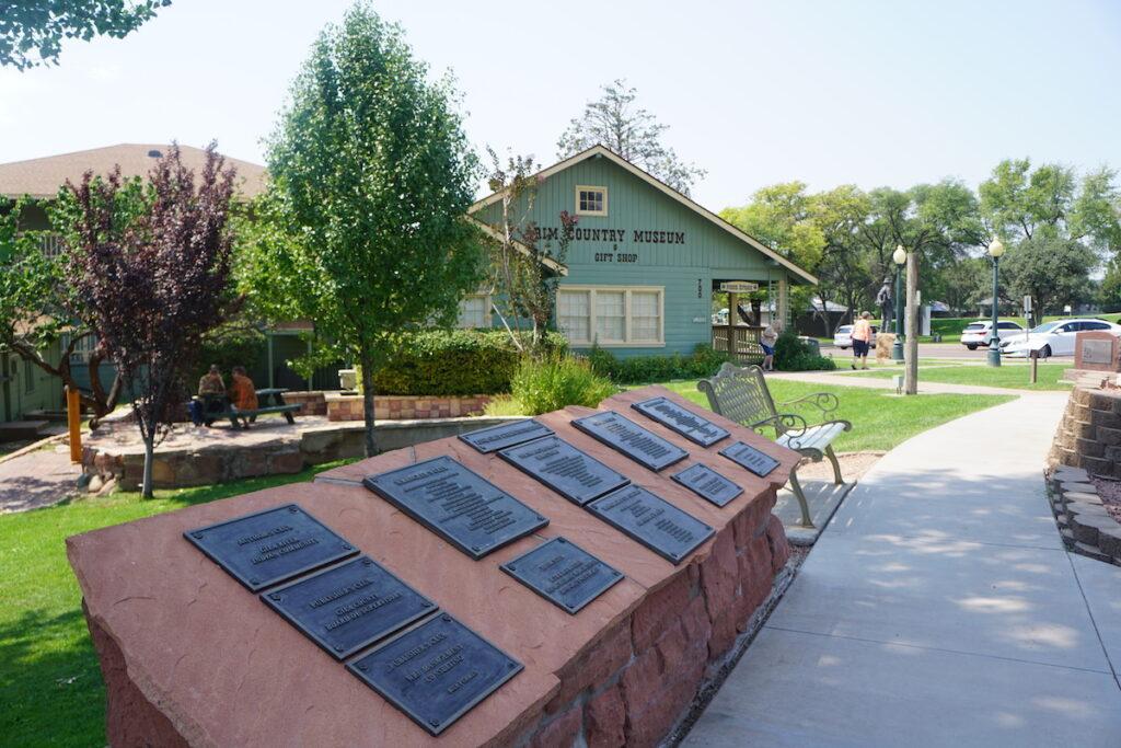 The Rim Country Museum in Arizona.