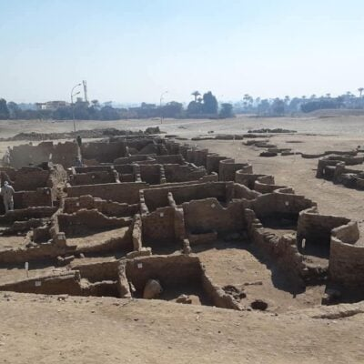 The Rise of Aten, Egyptian archaeological site.