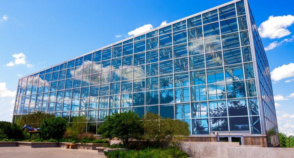 The River Bend Nature Center in Wichita, Texas.