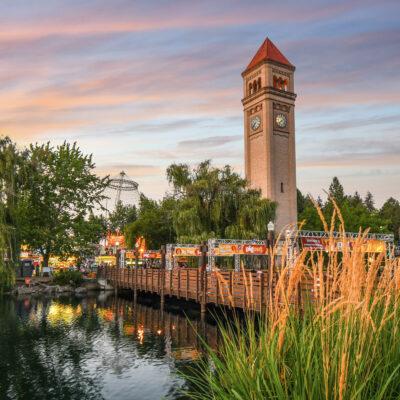 The Riverfront Park in Spokane, Washington.