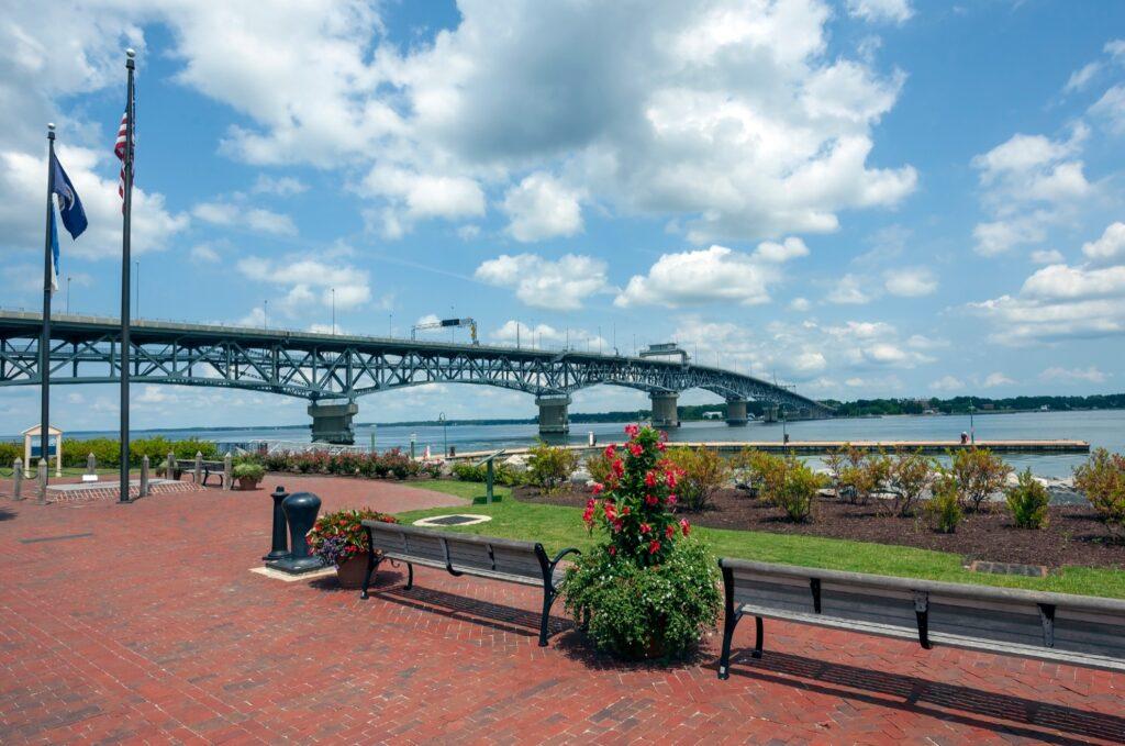 The Riverwalk Landing in Virginia.