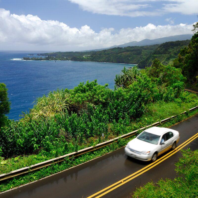 The Road to Hana in Maui, Hawaii.