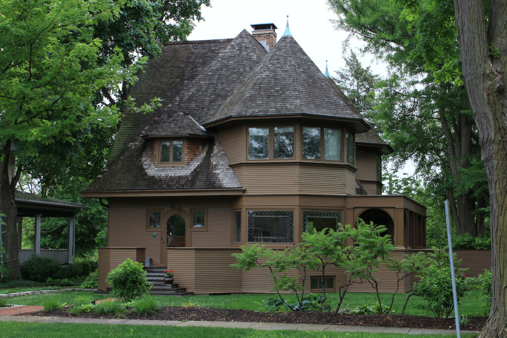 The Robert Parker House in Illinois.