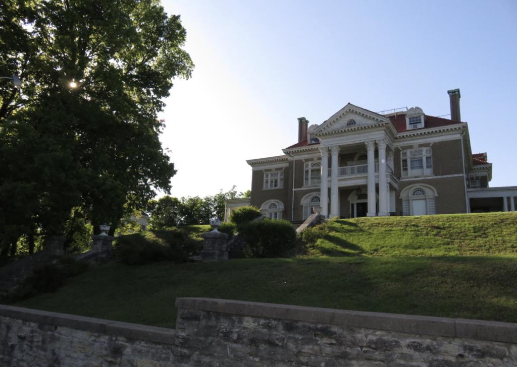 The Rockcliffe Mansion in Hannibal, Missouri.