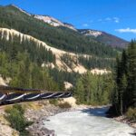 The Rocky Mountaineer Train excursion through Canada.