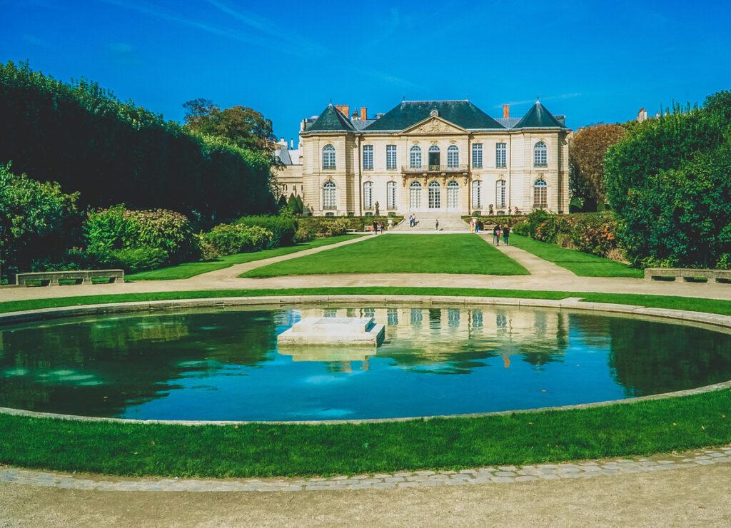 The Rodin Museum in Paris.