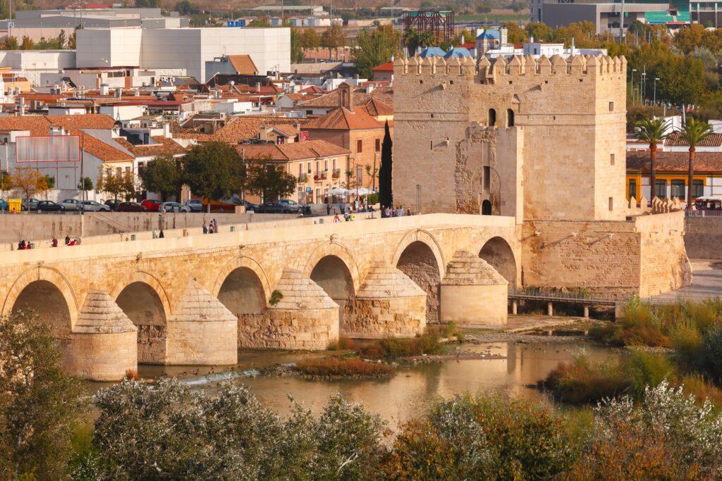 The Roman Bridge in Cordoba.