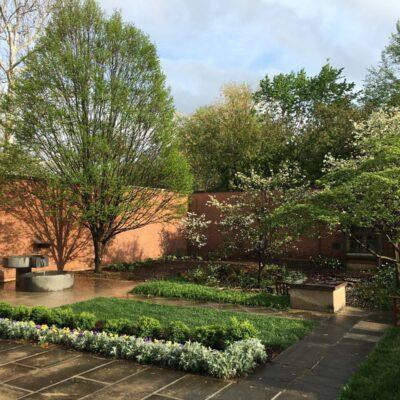 The Roofless Garden at the Jane Blaffer Owen Sanctuary