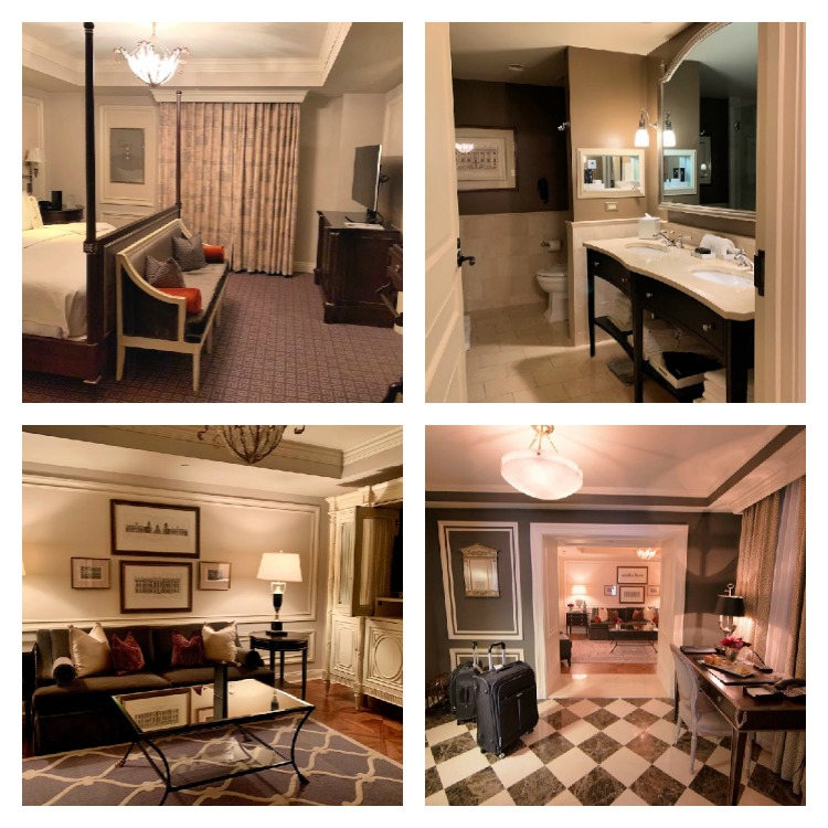 The rooms and suites at The Jefferson are all luxury.