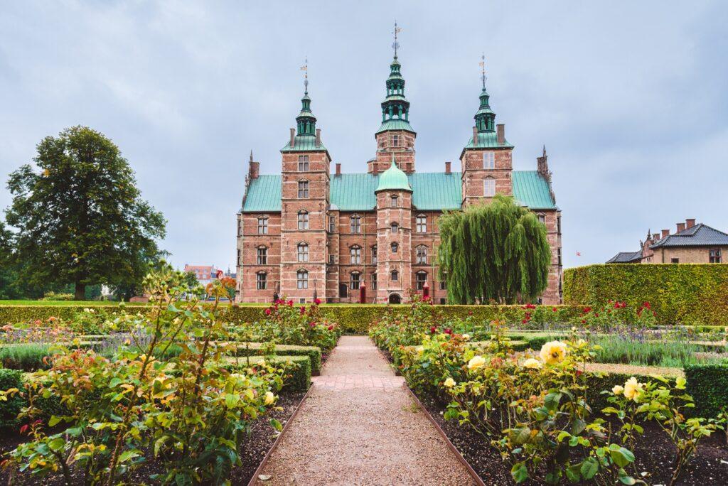 The Rosenborg Castle in Copenhagen.