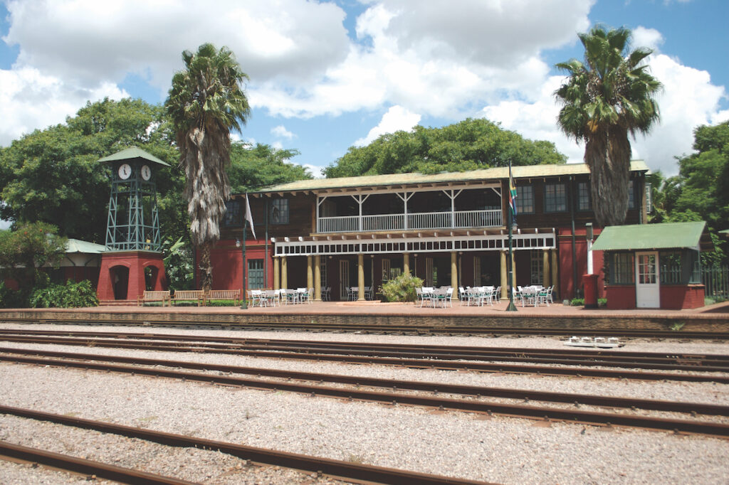 The Rovos Rail station in Cape Town.