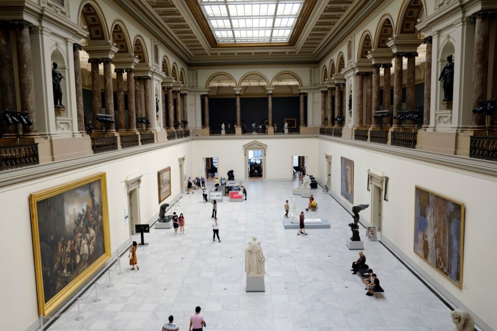 The Royal Museums of Fine Arts of Belgium.