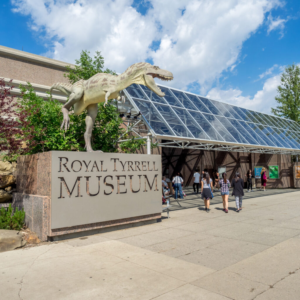 The Royal Tyrrell Museum Of Palaeontology in Canada.