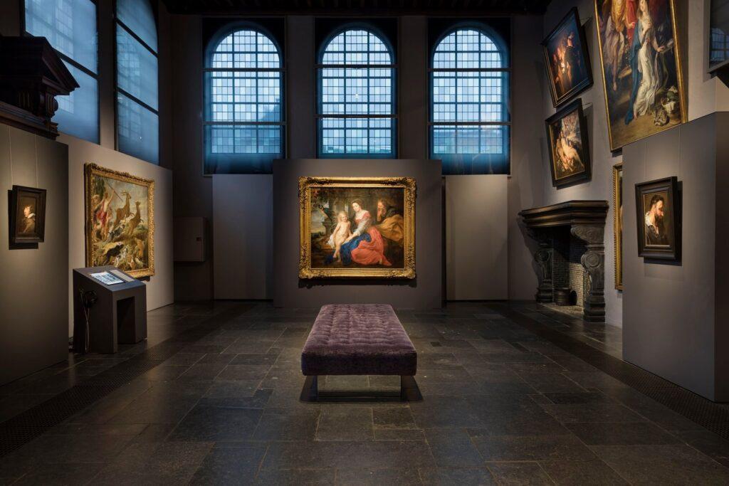 The Rubens Museum in Antwerp, Belgium.