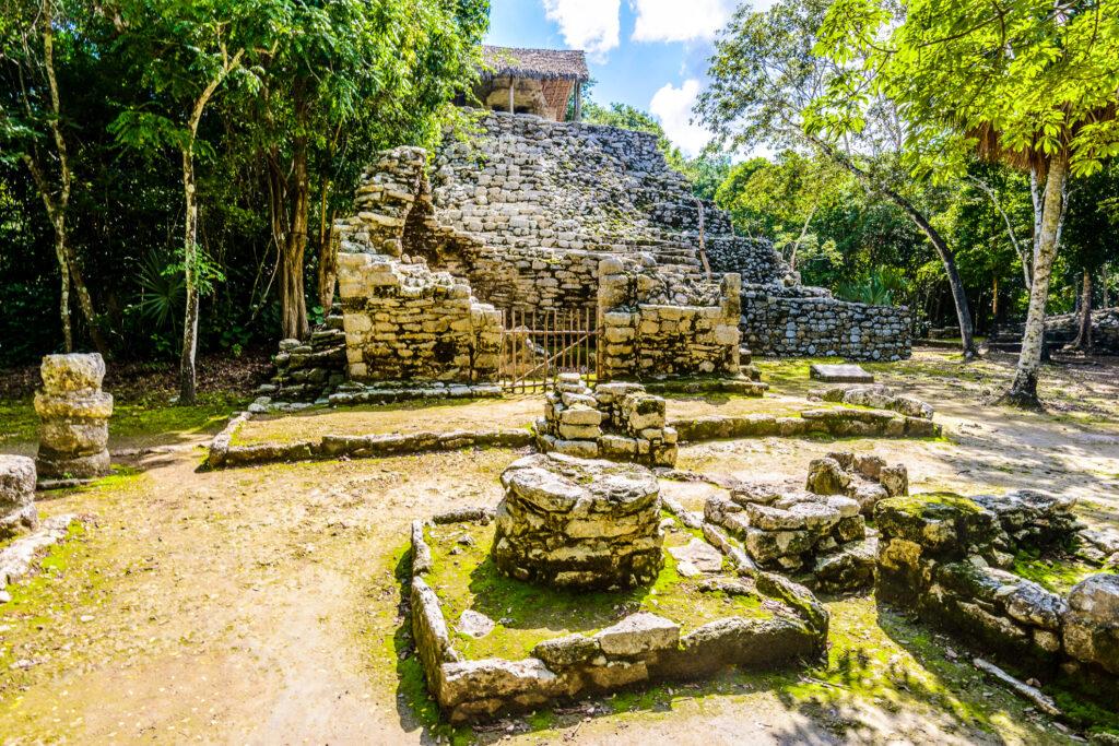 The ruins at Coba in Riviera Maya, Mexico.