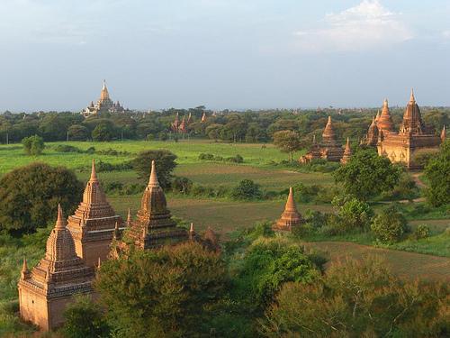 The ruins of Bagan