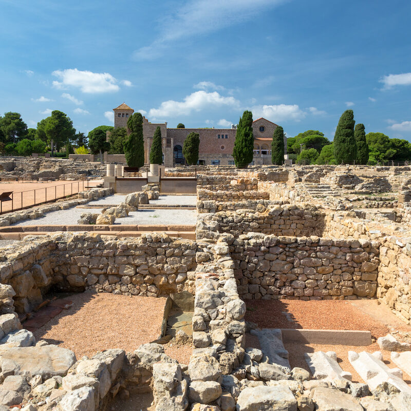 The ruins of Empuries in Spain.