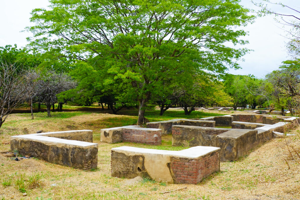 The Ruins of Leon Viejo in Nicaragua.
