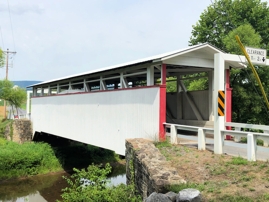 The Ryot Covered Bridge in Bedford County.