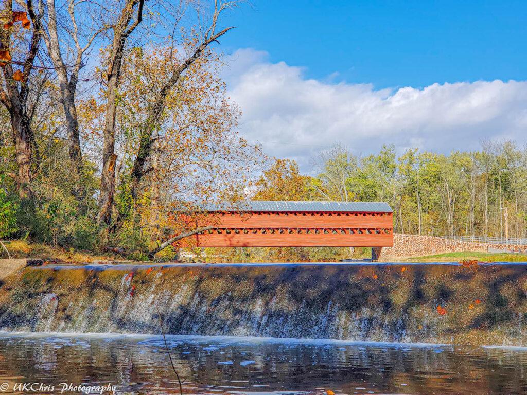 The Sachs Covered Bridge near Gettysburg, Pennsylvania.