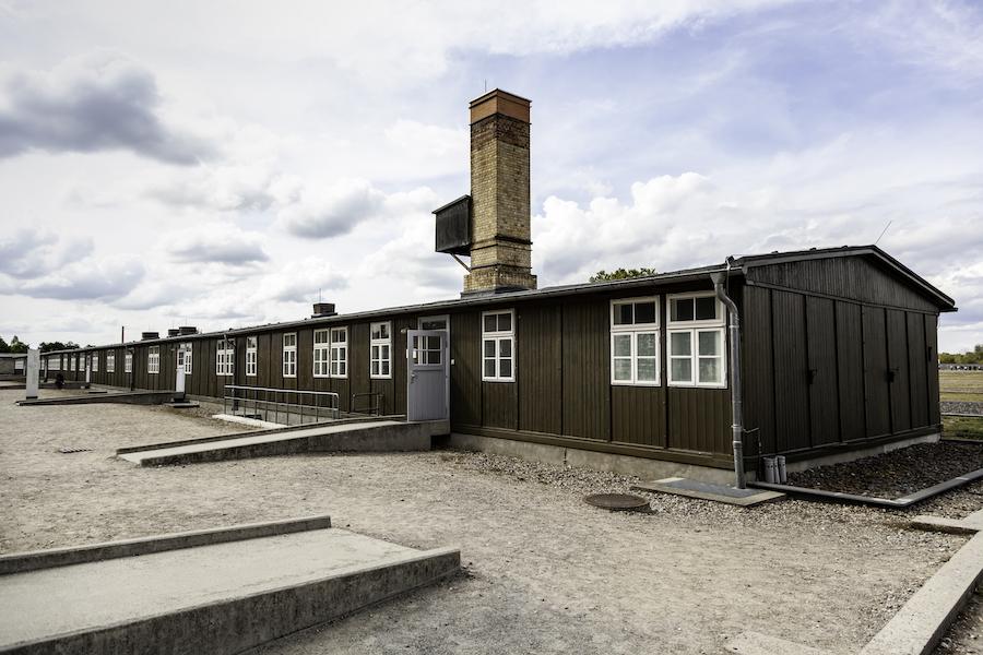 The Sachsenhausen Memorial And Museum near Berlin.