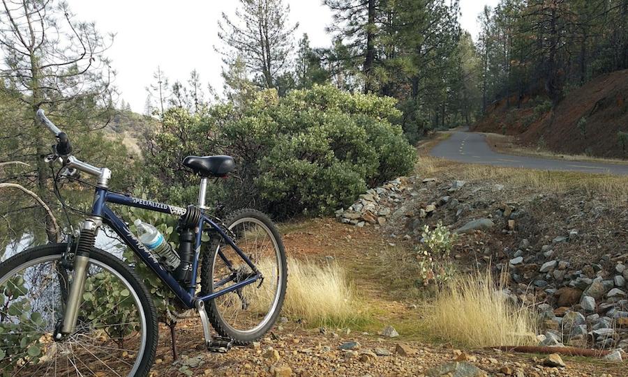 The Sacramento River Trail in Redding, California.