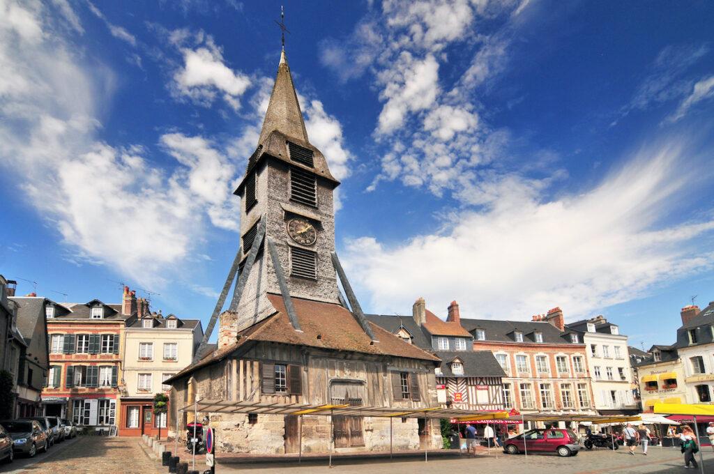 The Saint Catherine Neighborhood and Church in Honfleur.