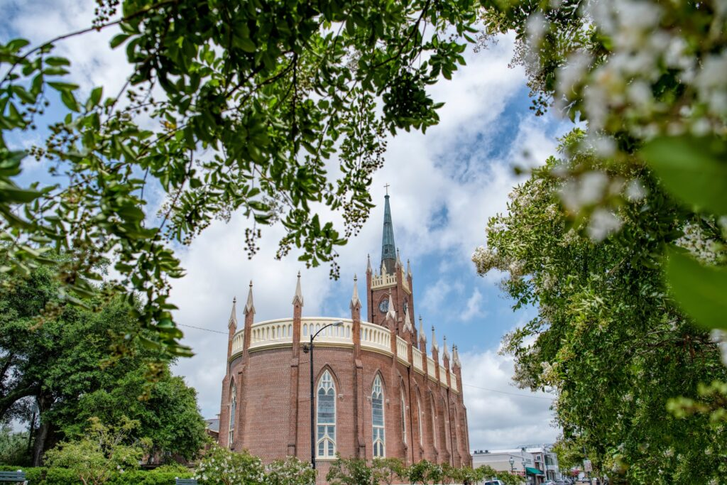 The Saint Mary Basilica in Natchez.
