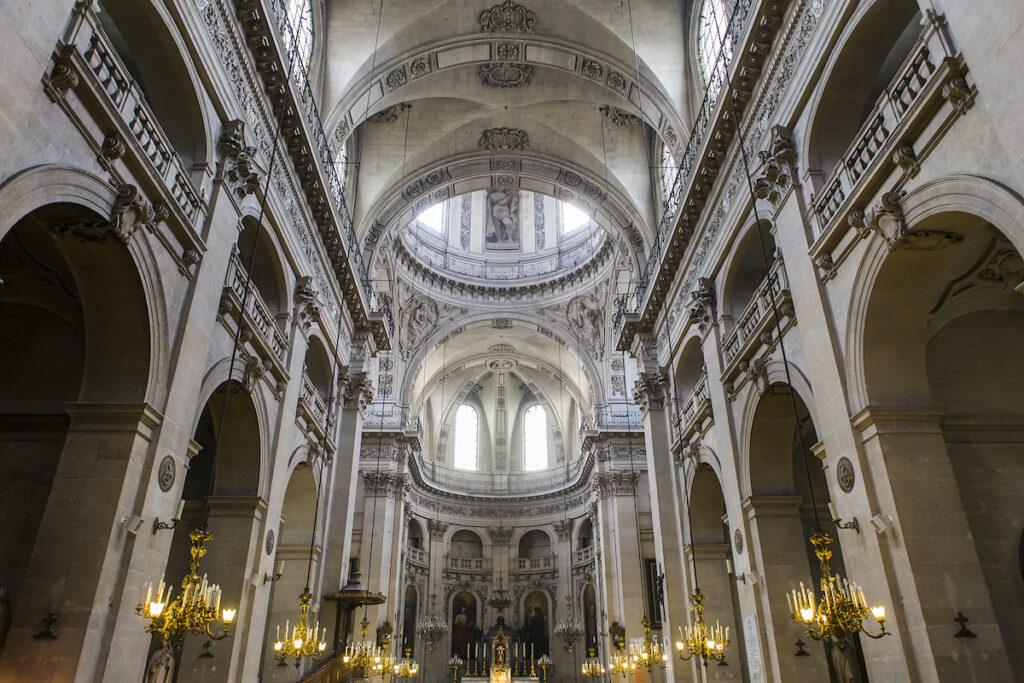 The Saint-Paul-Saint-Louis Church in Paris, France.